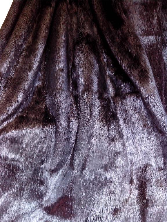 Покрывало Autstone из натурального меха нутрии