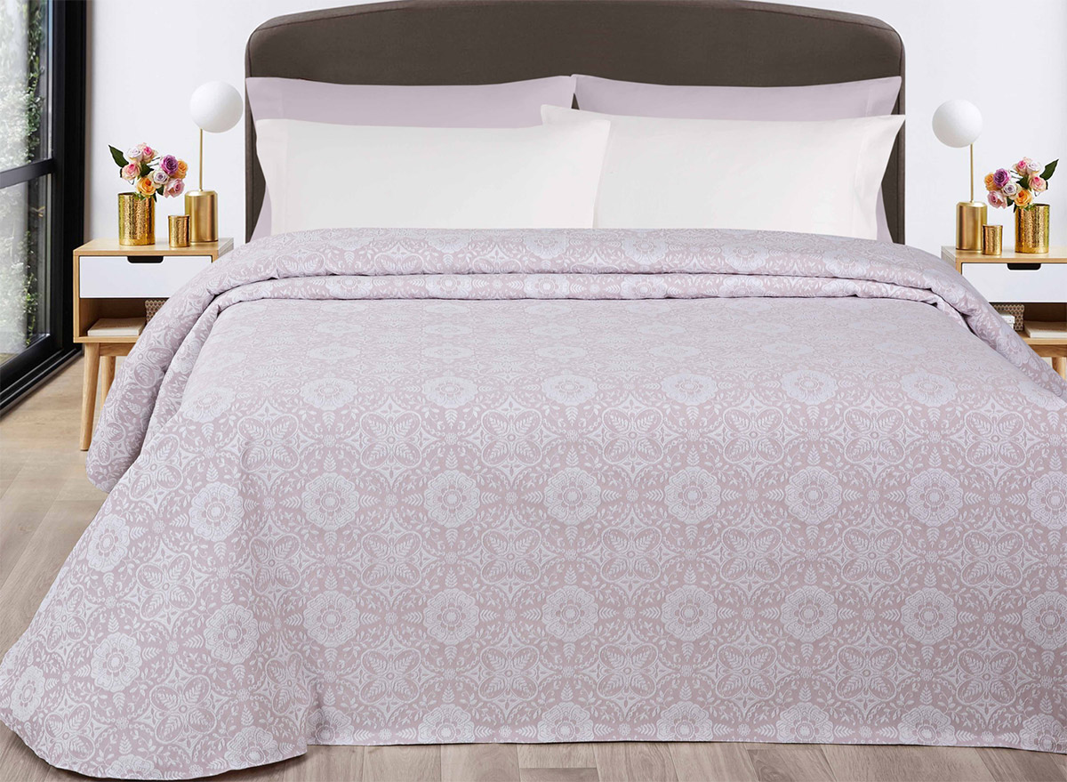 Покрывало Billerbeck Santarem розовое