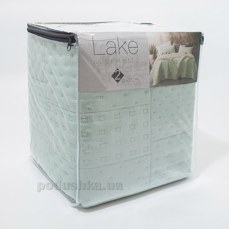 Покрывало Centrotex Lake Cube Quilt acqua бирюзовое