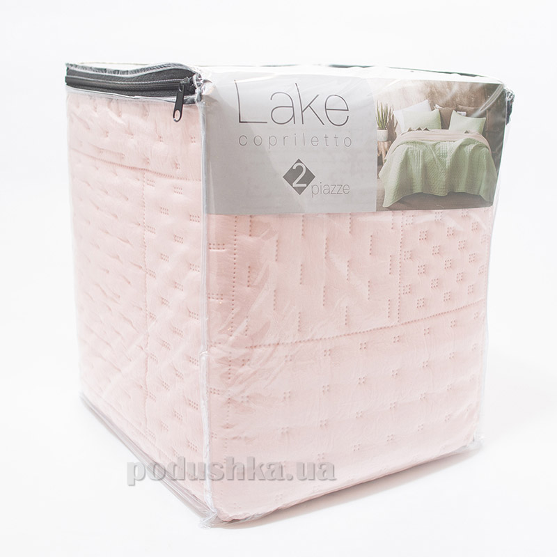 Покрывало Centrotex Lake Cube Quilt rosa розовое
