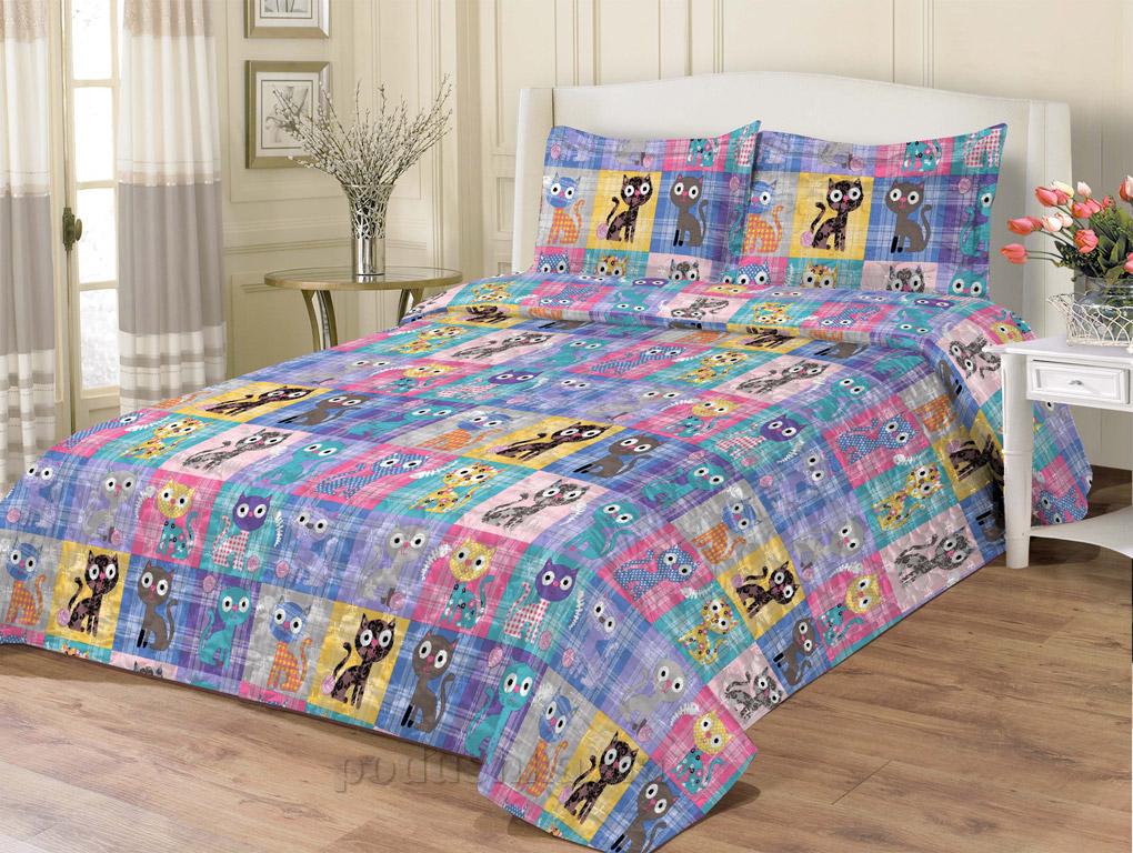 Покрывало для детской кроватки Zasteli Cats   Zastelli