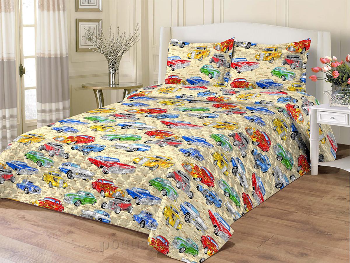 Покрывало для детской кроватки Zasteli Машинки   Zastelli