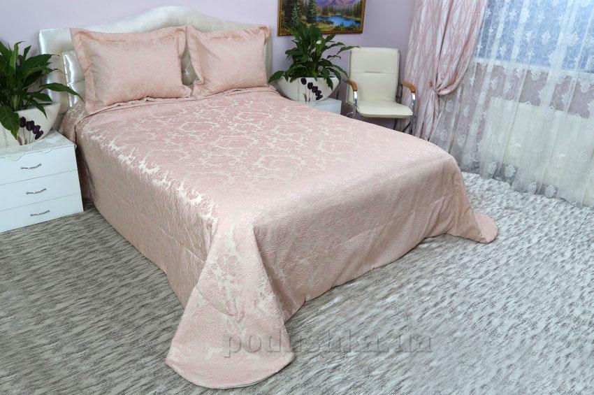 Покрывало с наволочками Arya Maria розовое