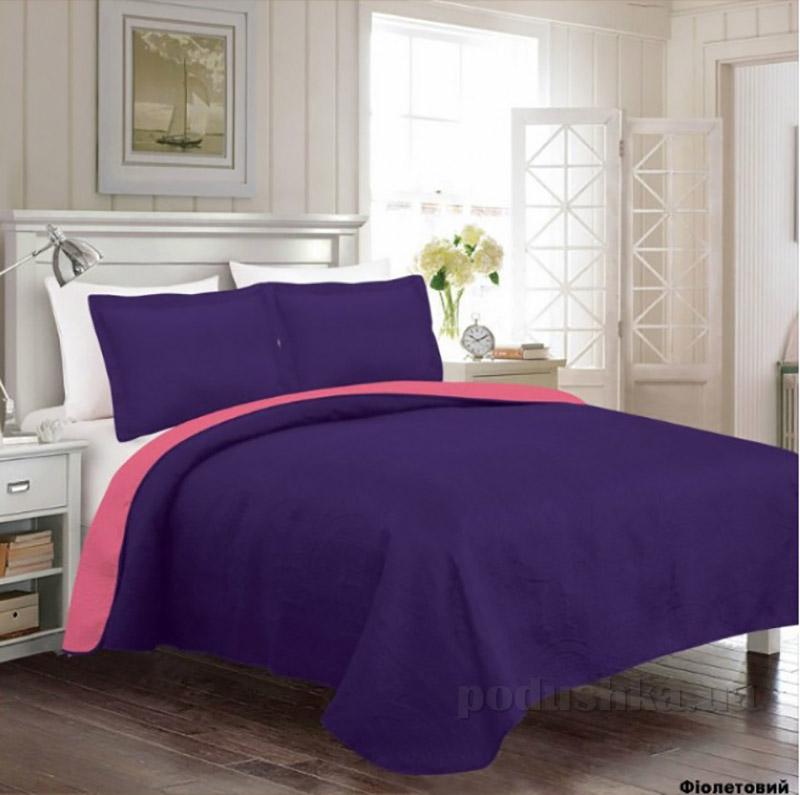 Покрывало с наволочками Arya Rainbow фиолетовое