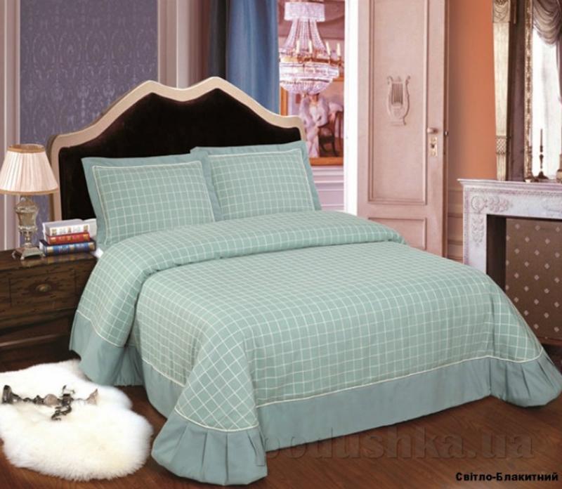 Покрывало с наволочками Arya TR1001107 Granada светло-голубое