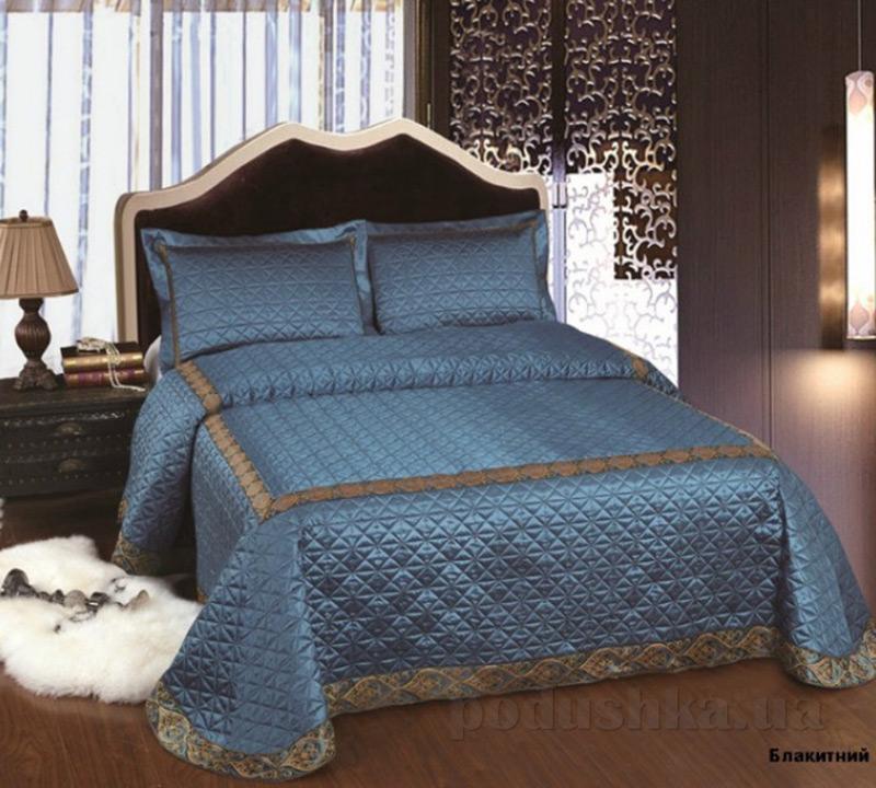 Покрывало с наволочками Arya TR1001109 Marbella голубое