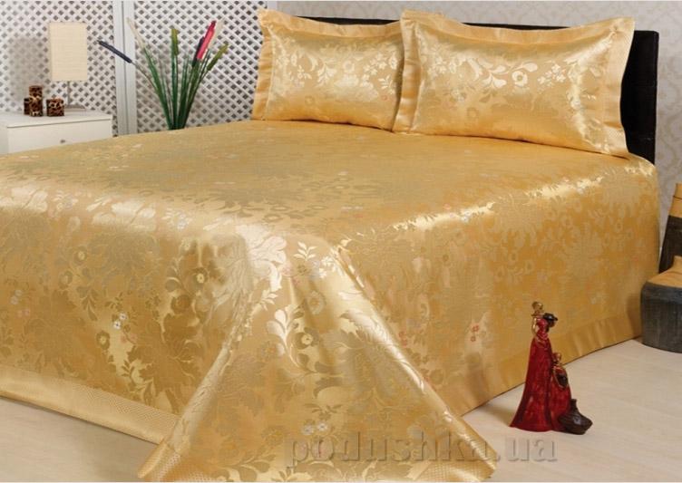 Покрывало с наволочками Hanibaba R-1135 Gold