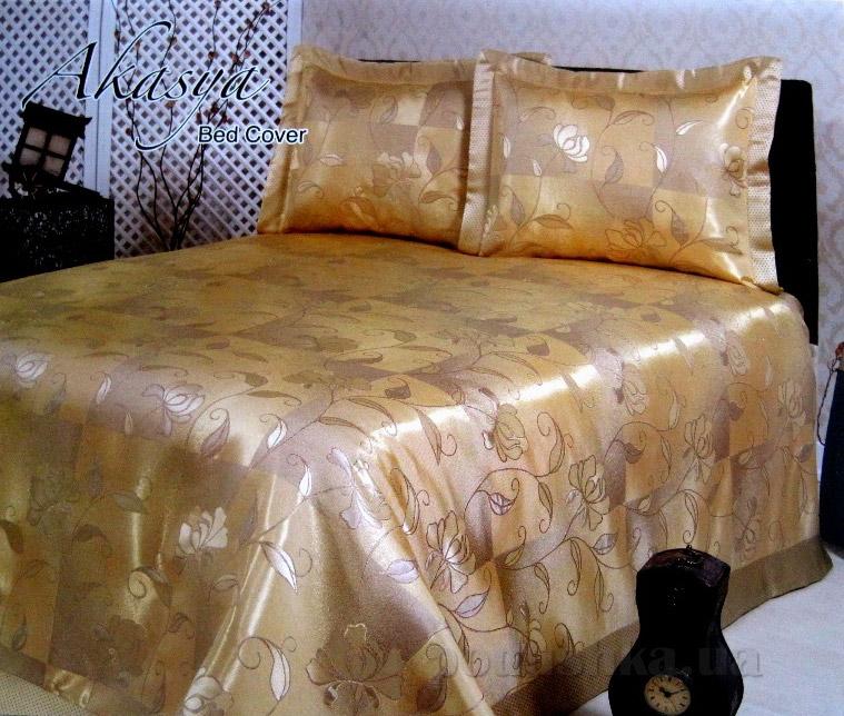 Покрывало с наволочками Hanibaba R-1139 Gold