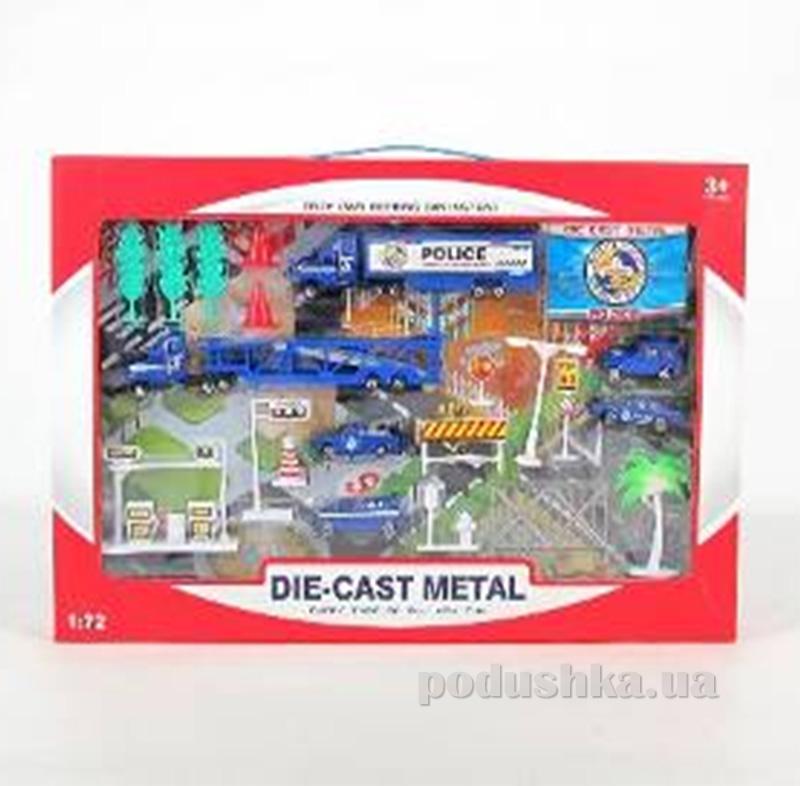 Полицейский набор для мальчика Die-Cast Set 486728WP