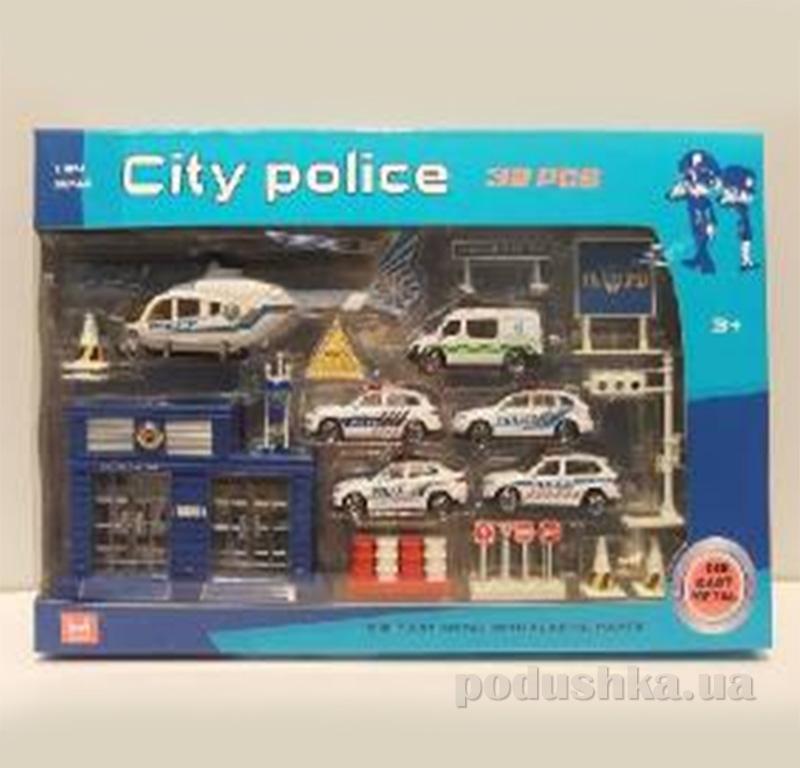 Полицейский набор для мальчика Die-Cast Set 526224WP
