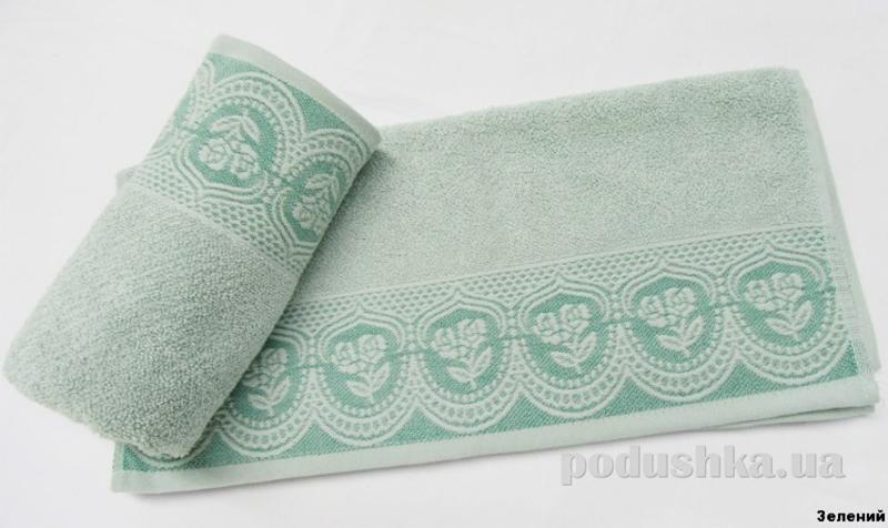 Полотенце Arya Bella зеленое