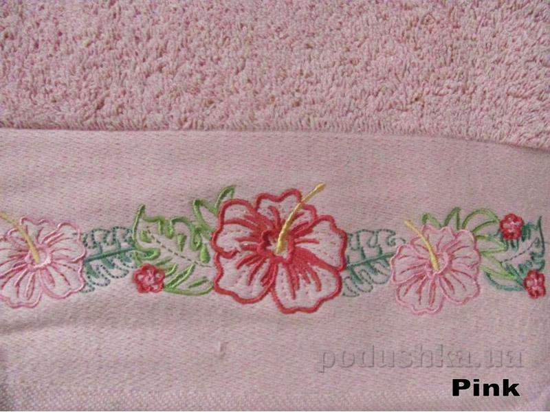 Полотенце Arya Classi Jolien розовое
