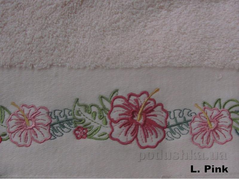 Полотенце Arya Classi Jolien светло-розовое