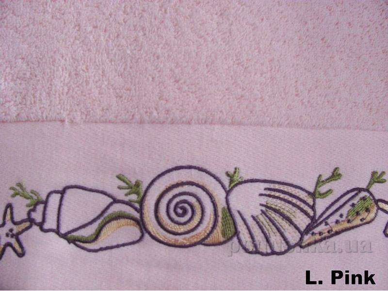 Полотенце Arya Classi Lunette светло-розовое