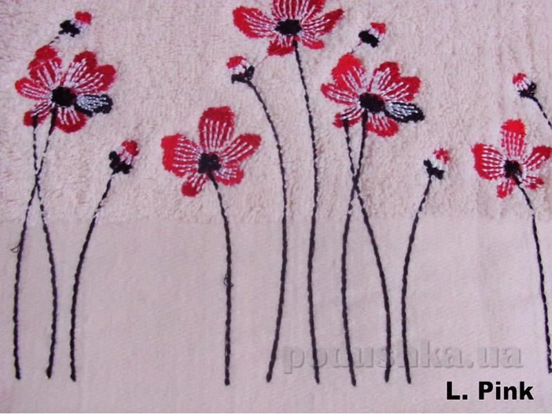 Полотенце Arya Classi Marian светло-розовое