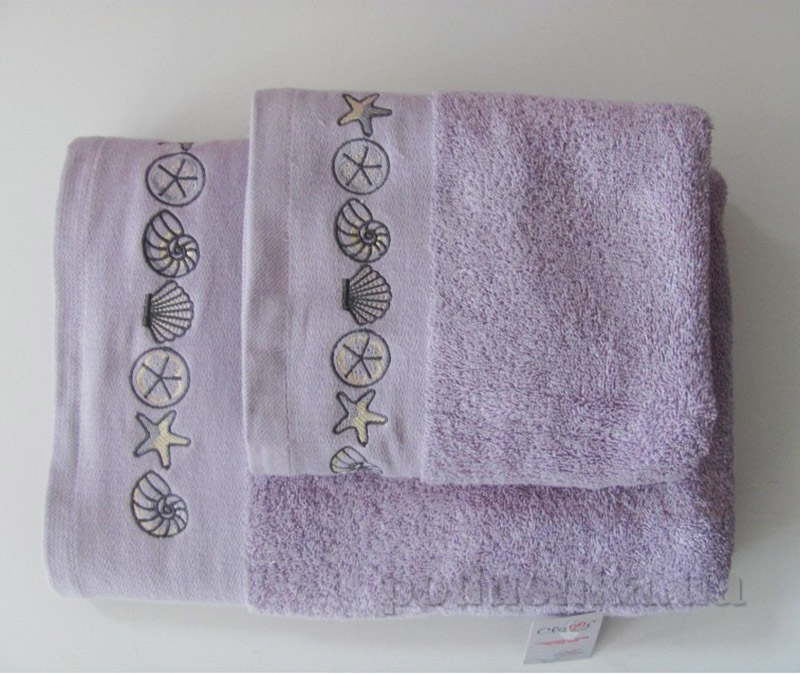 Полотенце Arya Classi Tallis фиолетовое