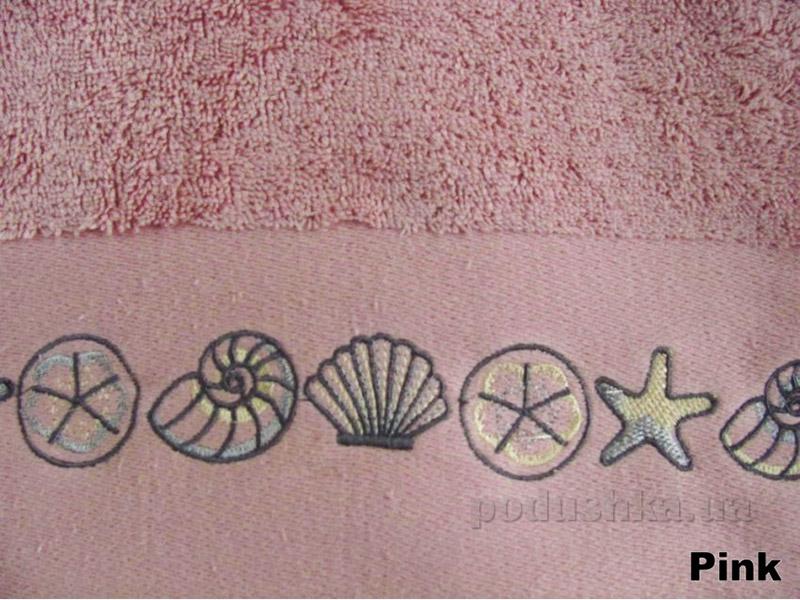 Полотенце Arya Classi Tallis розовое