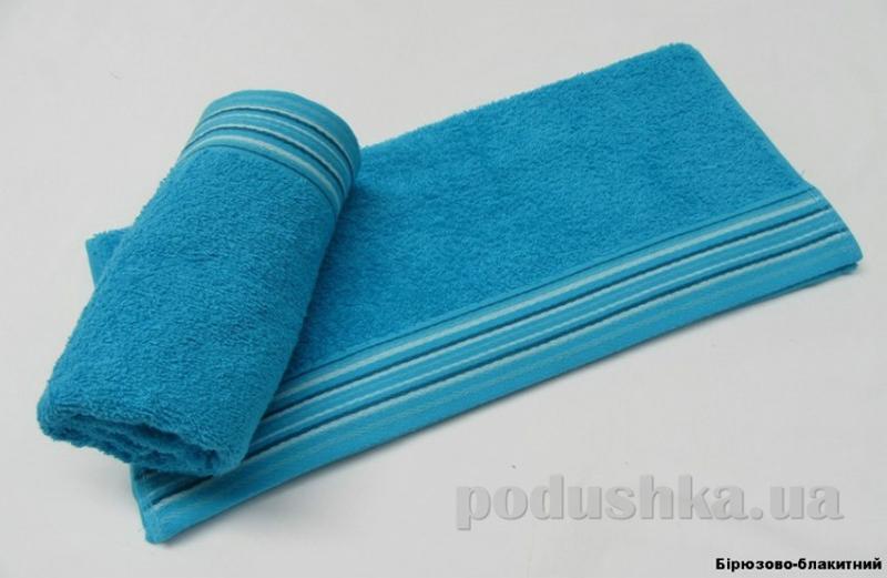 Полотенце Arya Stone Wash голубое