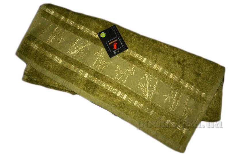 Полотенце бамбук Mariposa Gold хаки