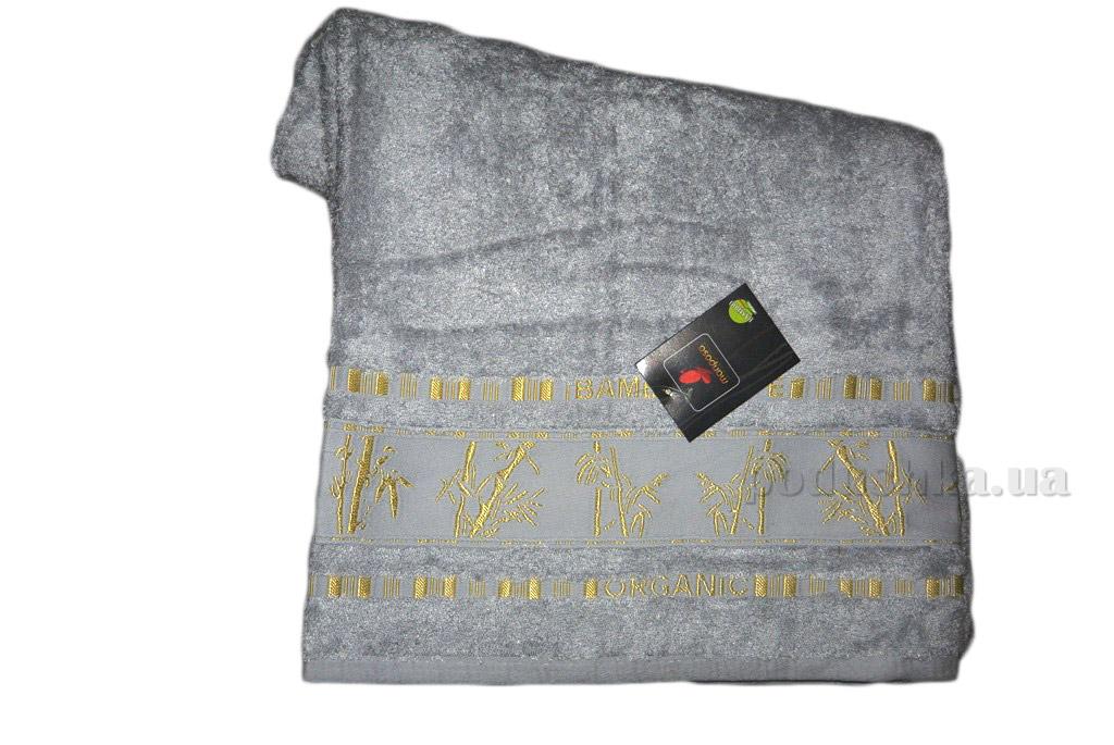 Полотенце бамбук Mariposa Gold светло-серое