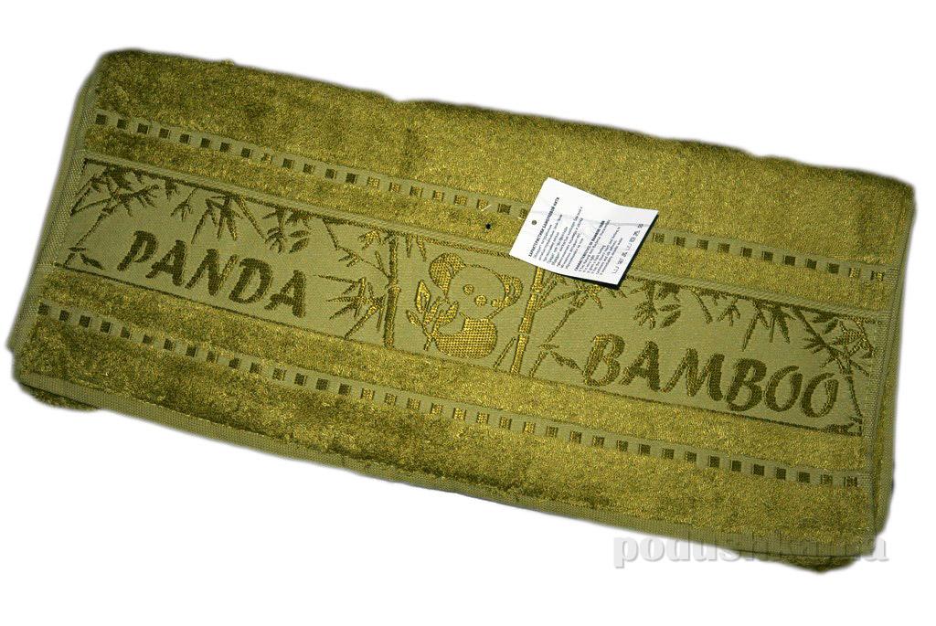 Полотенце бамбук Mariposa Panda хаки