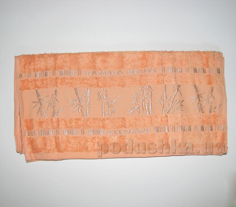 Полотенце бамбук Missemily абрикосовый