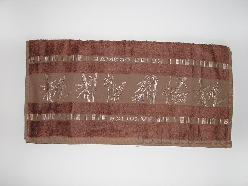 Полотенце бамбук Missemily коричневый