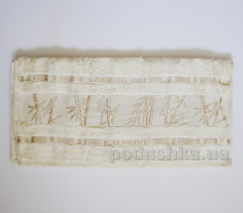 Полотенце бамбук Missemily молочный