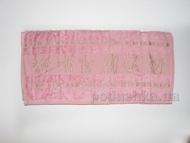 Полотенце бамбук Missemily нежно розовый