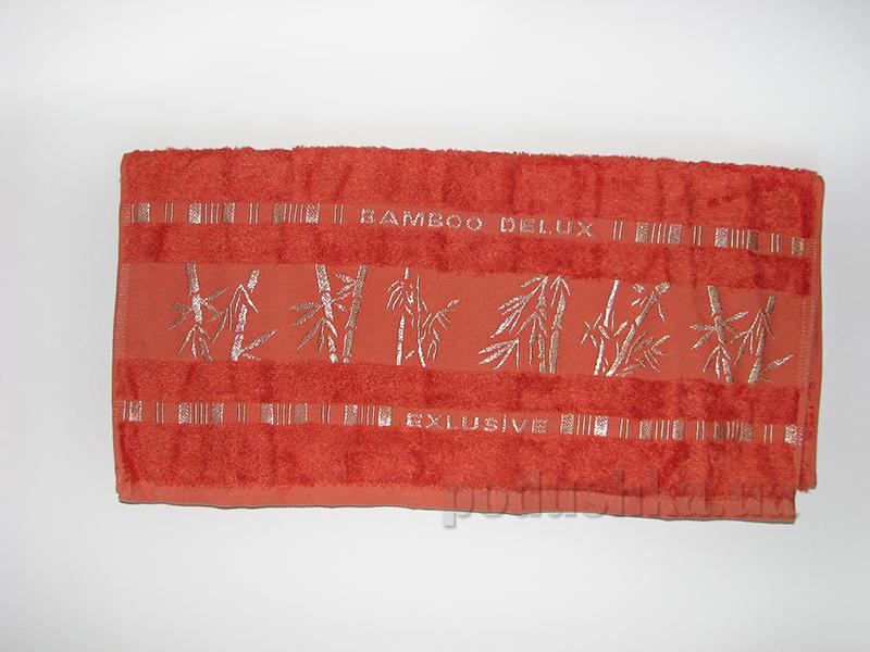 Полотенце бамбук Missemily терракотовый