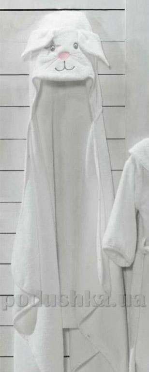 Полотенце детское с капюшоном Eke home Bunny