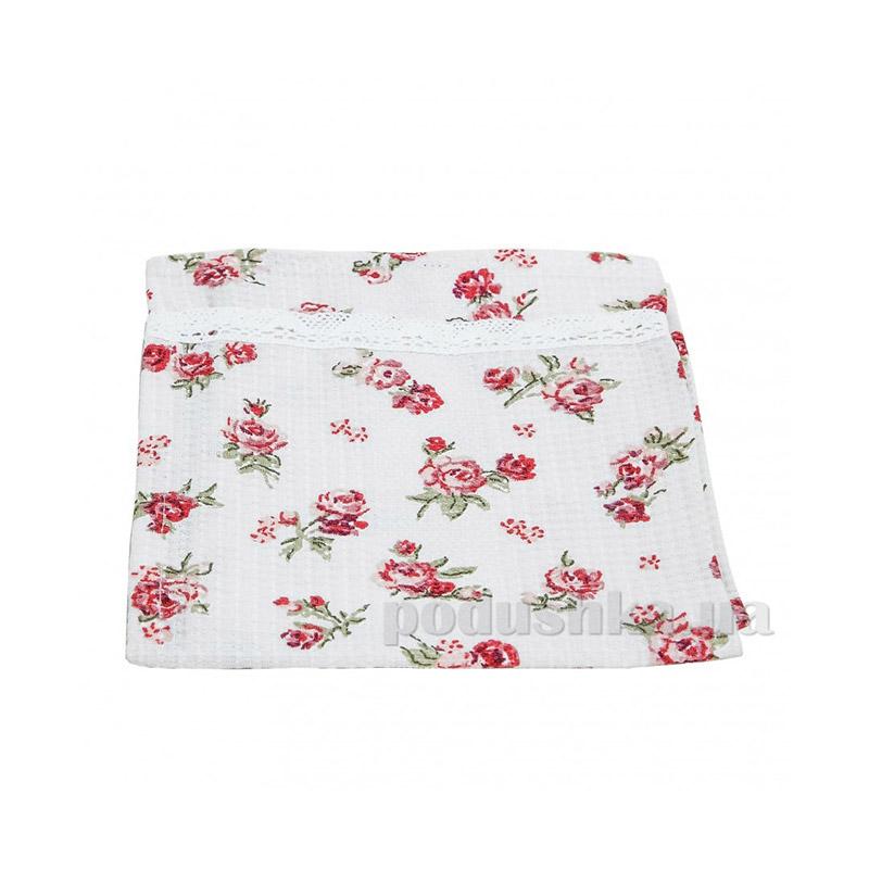 Полотенце для кухни с мережкой Прованс Классик red Rose 10396