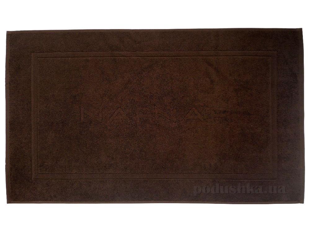 Полотенце для ног махровое Naf Naf Casual темно-коричневый
