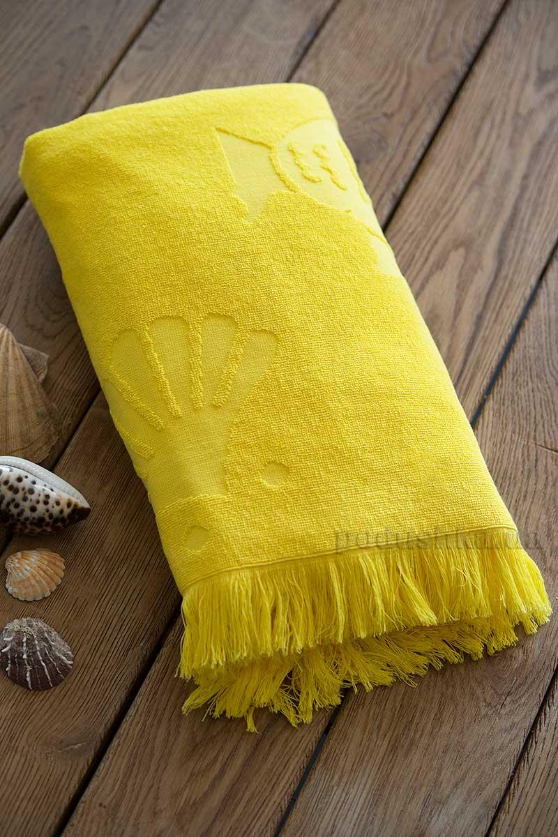 Полотенце для пляжа SoundSleep Tahiti yellow