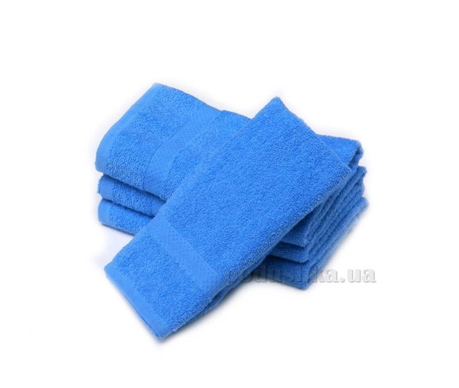 Полотенце Izzihome Махра Mix голубое