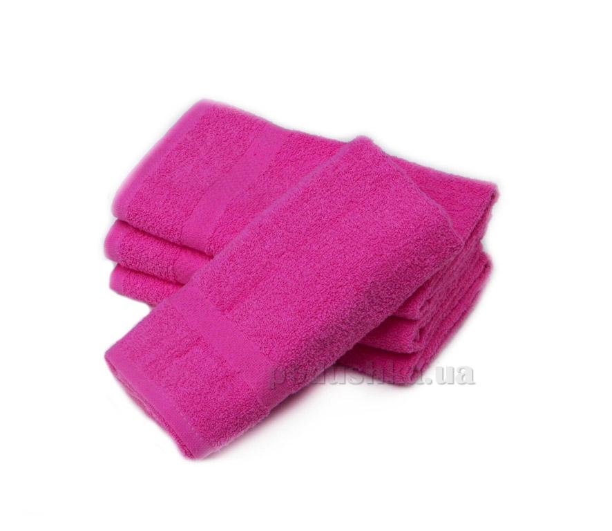 Полотенце Izzihome Махра Mix розовое