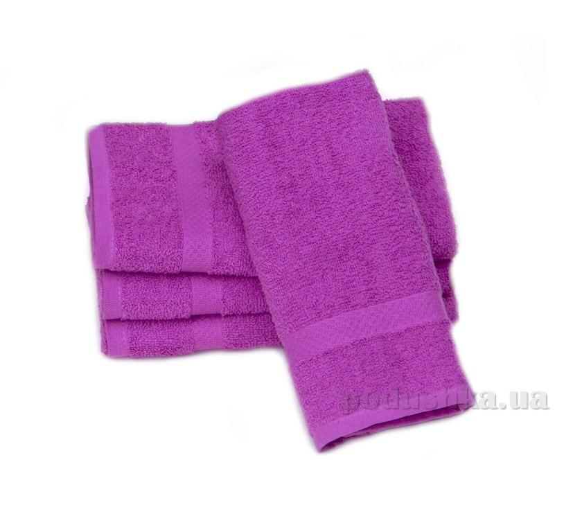 Полотенце Izzihome Махра Mix темно-розовое
