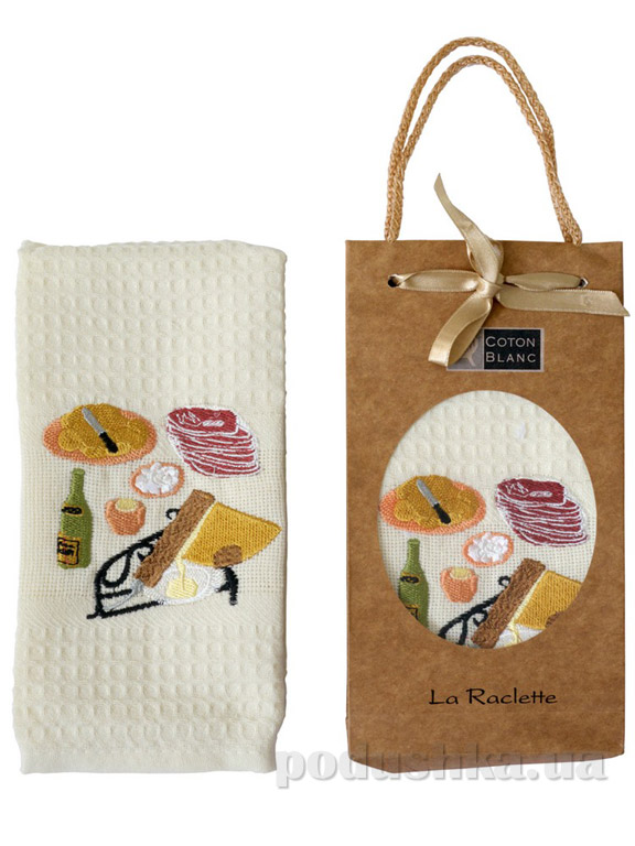 Полотенце кухонное Coton blanc La Raclette