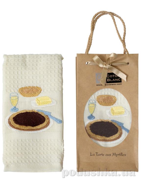 Полотенце кухонное Coton blanc La Tarte aux Myrtilles