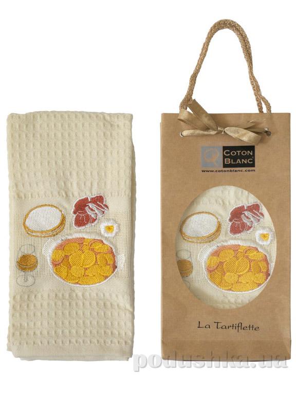 Полотенце кухонное Coton blanc La Tartiflette
