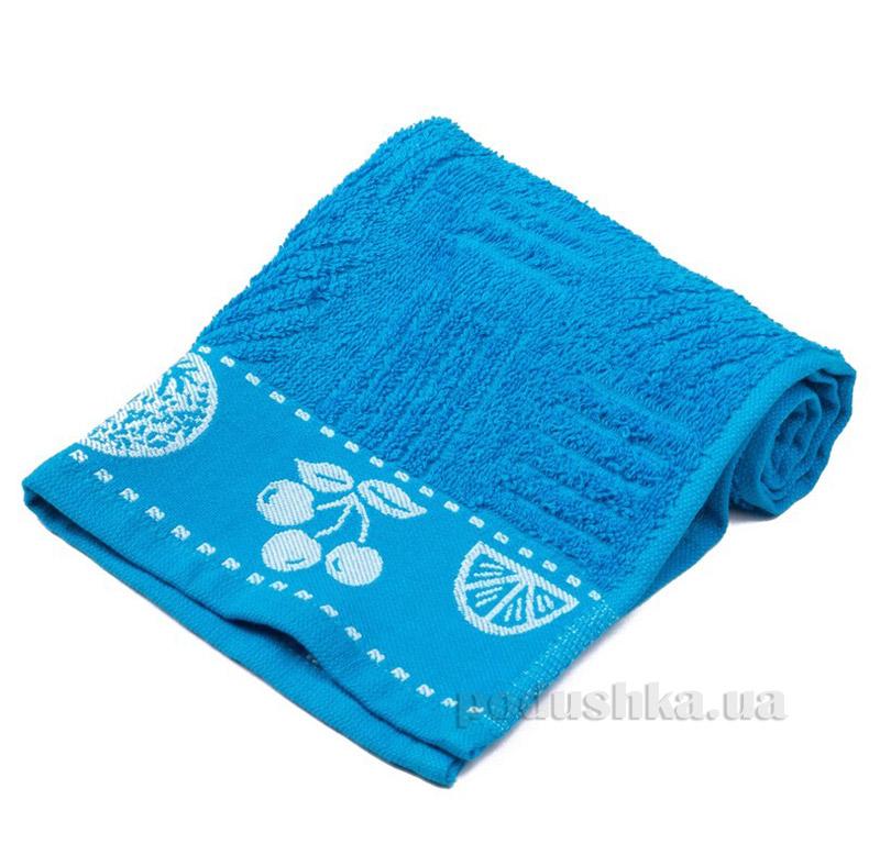 Полотенце кухонное Hobby Meyve голубой