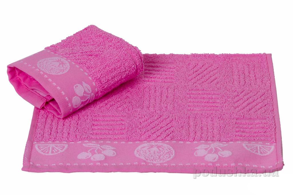 Полотенце кухонное Hobby Meyve розовый