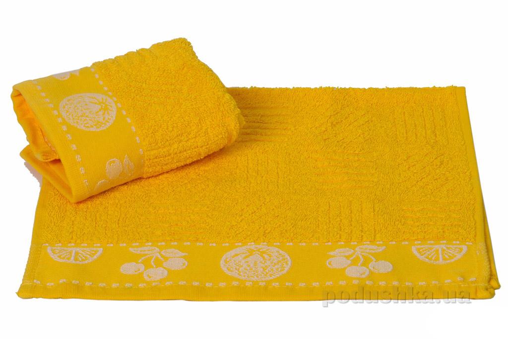 Полотенце кухонное Hobby Meyve желтый