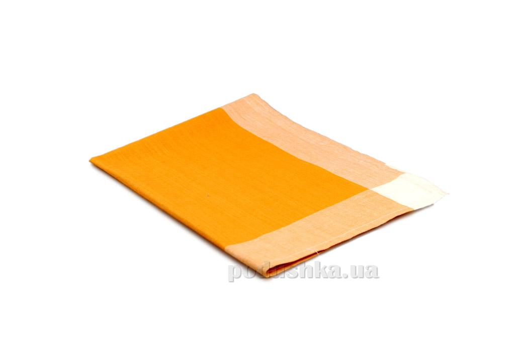 Полотенце кухонное Home line Рамка оранжевое
