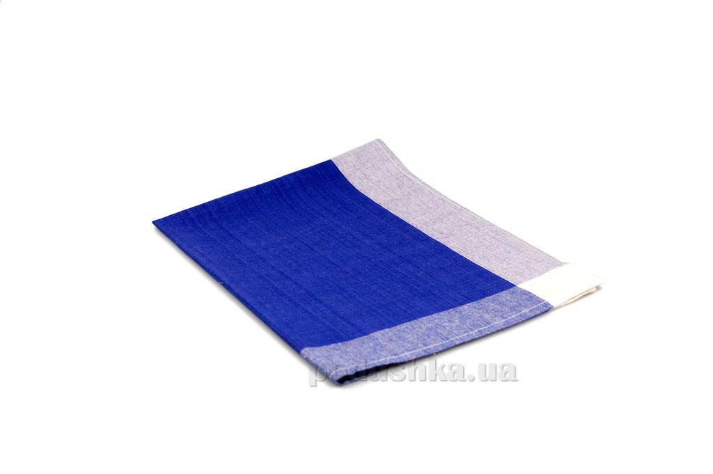 Полотенце кухонное Home line Рамка синее