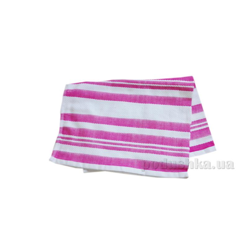 Полотенце кухонное Koza розовая полоска