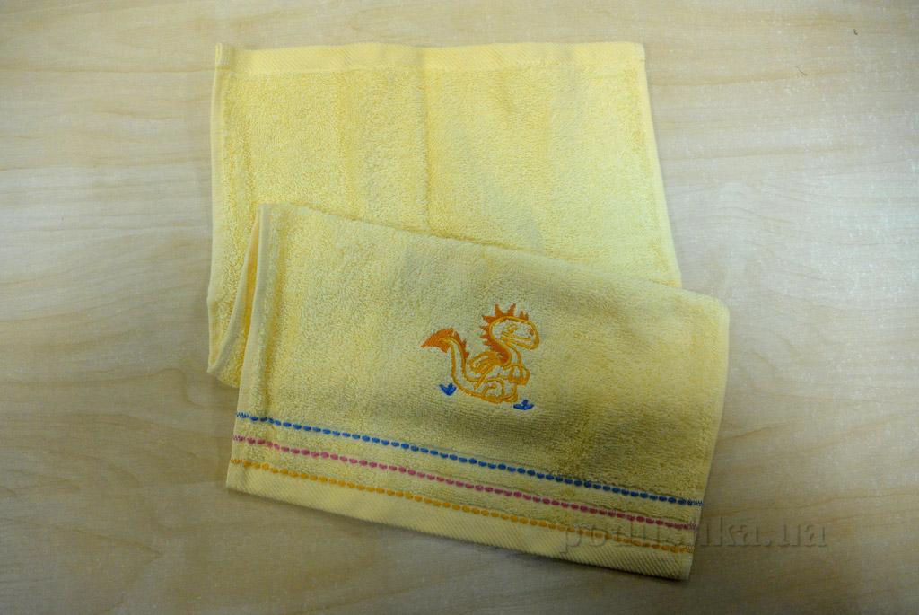 Полотенце кухонное махровое Altinbasak Дракон жёлтый
