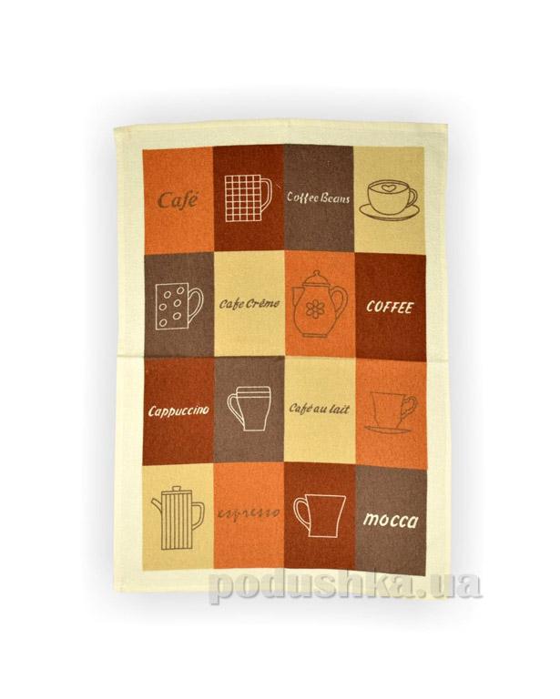 Полотенце кухонное махровое Home Line Кофе