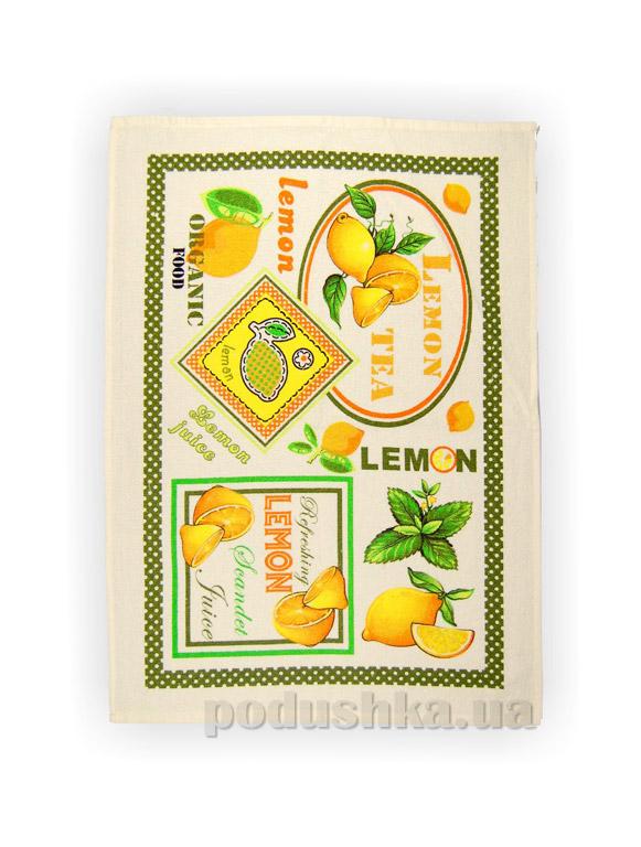 Полотенце кухонное махровое Home Line Лимоны