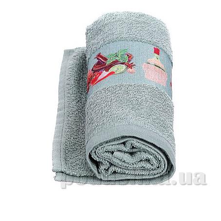 Полотенце кухонное махровое Руно 705 фисташковое